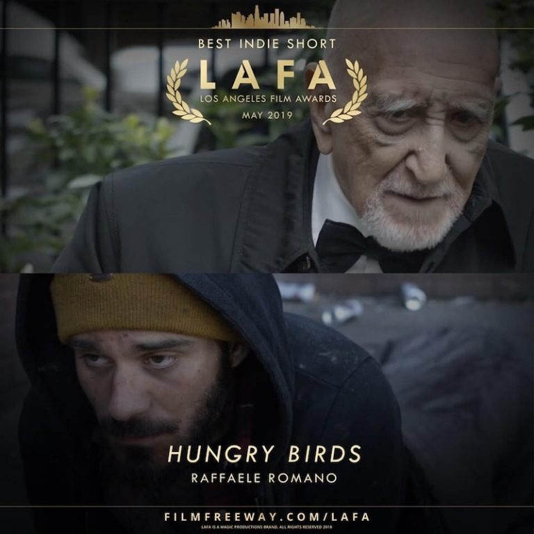 Poster for Hungry Birds showing protagonists.