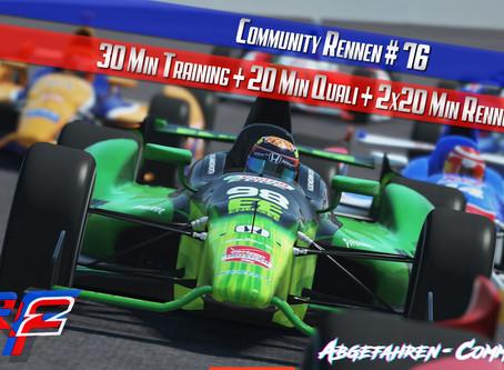 CR #76 | IndyCar @ Indianapolis Motor Speedway