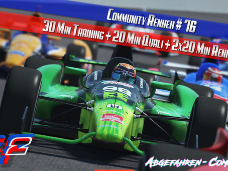 CR #76   IndyCar @ Indianapolis Motor Speedway