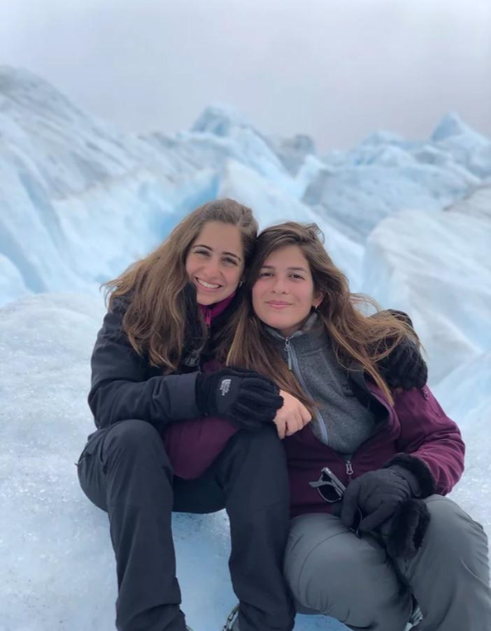Glaciar Perito Moreno – El Calafate. Foto: cedida por la entrevistada