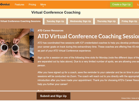 ATD Virtual Conference 3 -SNSとコーチングとSocial27