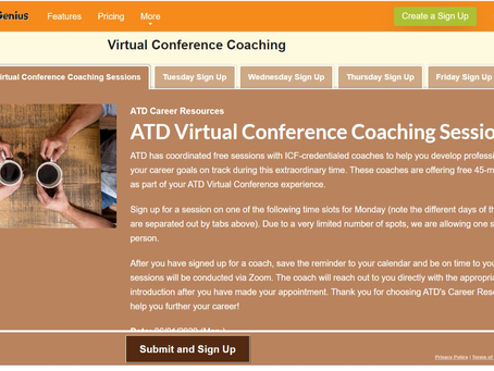 ATD Virtual Conference 3 -SNSとコーチングとSocial27