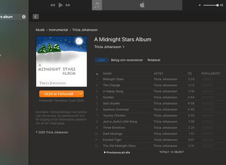 You can now pre-order my album!