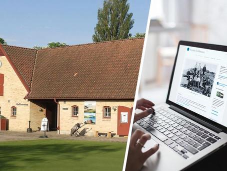 Svenska Golfmuseet satsar digitalt