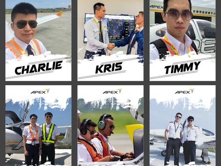 賀!安捷六名自訓學員考取「台灣虎航」