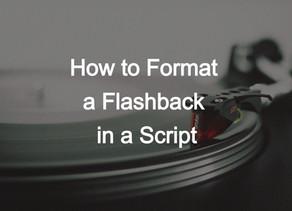 Flashbacks in a Script