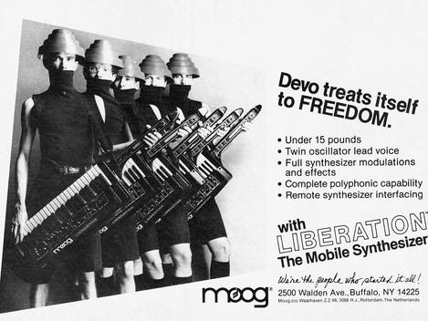 Begagnad Moog Liberation, Devos val:) 29999:-