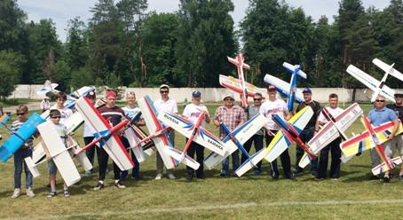 Чемпионат и Первенство центрального федерального  округа  по авиамодельному спорту в классе F-2B.