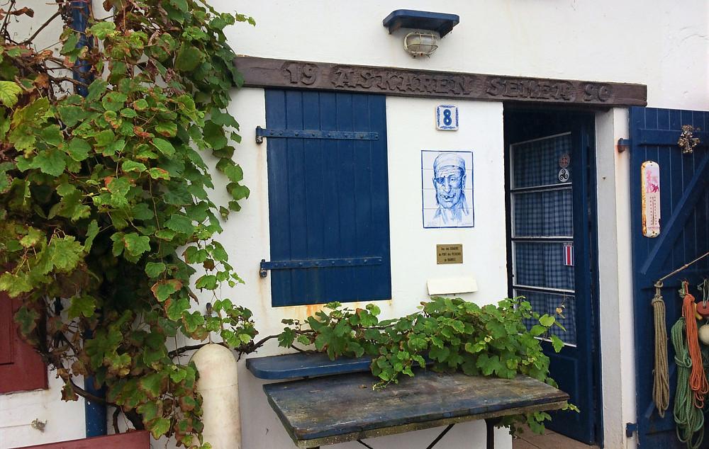 Une crampotte au Port des Pechêurs. Biarritz.