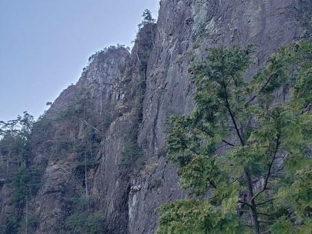 2020.3 雪彦山地蔵岳東陵