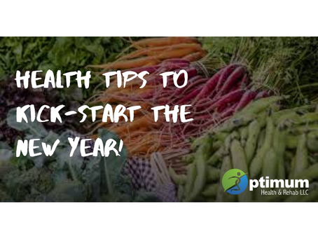 Health Tips to Kick-Start the New Year!