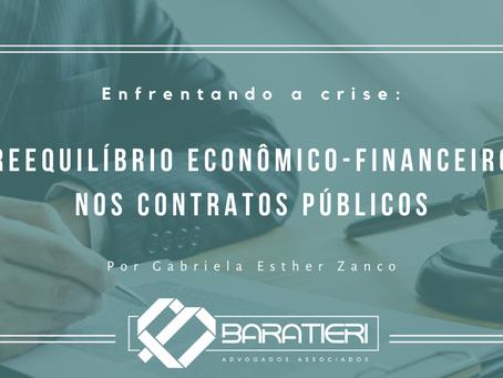 Enfrentando a crise: reequilíbrio econômico-financeiro nos contratos públicos