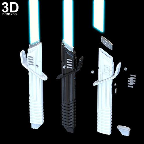 Darksaber for Moff Gideon & Mandalorian Star Wars Coplay 3D Printable Model #K74