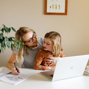 Hacks to working from home with kids