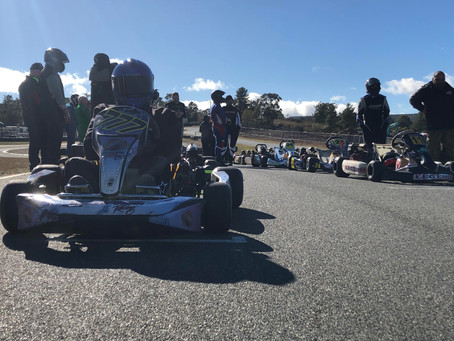 Last Lap Chaos In Canberra!