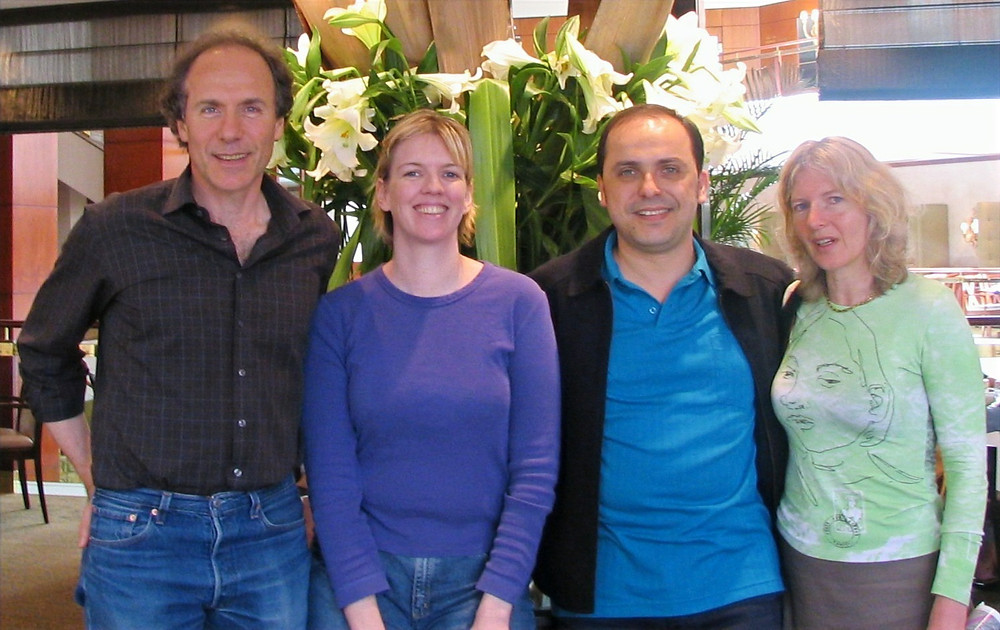 Alan Finkel, Kylie Ahern, Wilson da Silva and Elizabeth Finkel