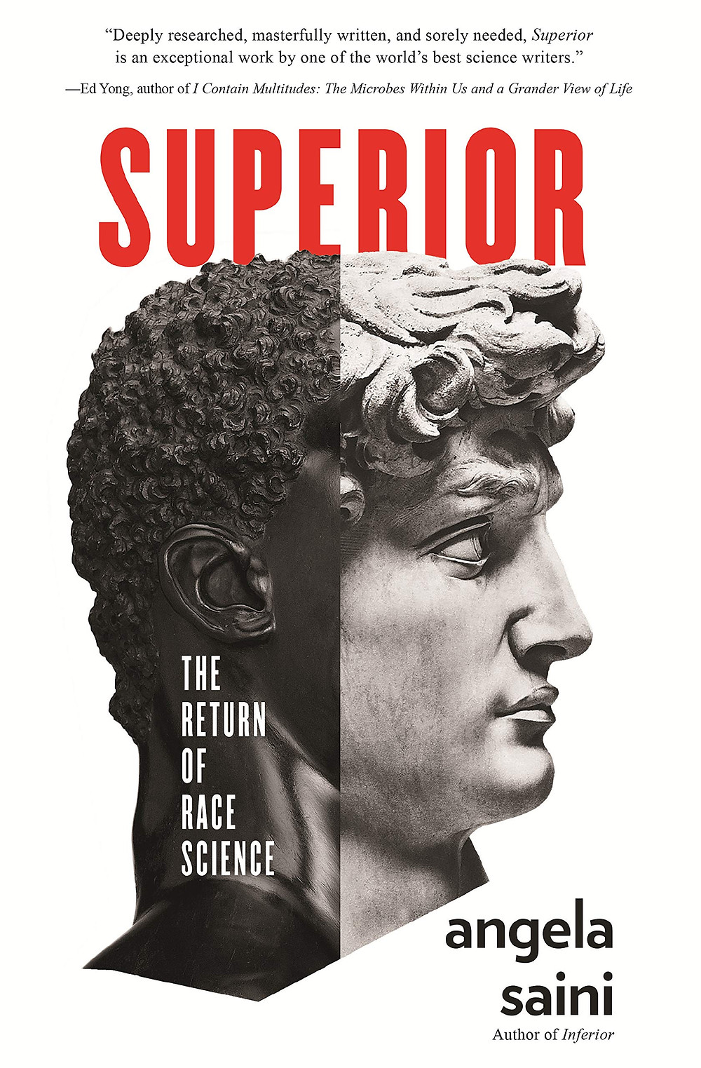 Superior: The Return of Race Science By Angela Saini : the book slut book reviews thebookslut