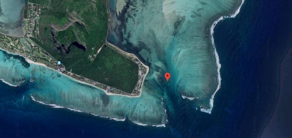 Comment voir la cascade sous-marine de l'Ile Maurice