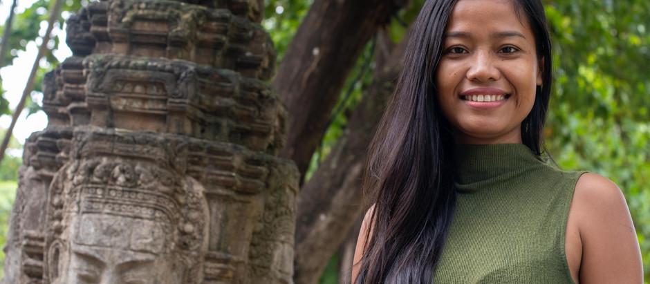 Siem Reap & Parcours : Chhorvin Liv, modèle de vie