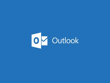 Outlook Crash Fix 7-15-2020
