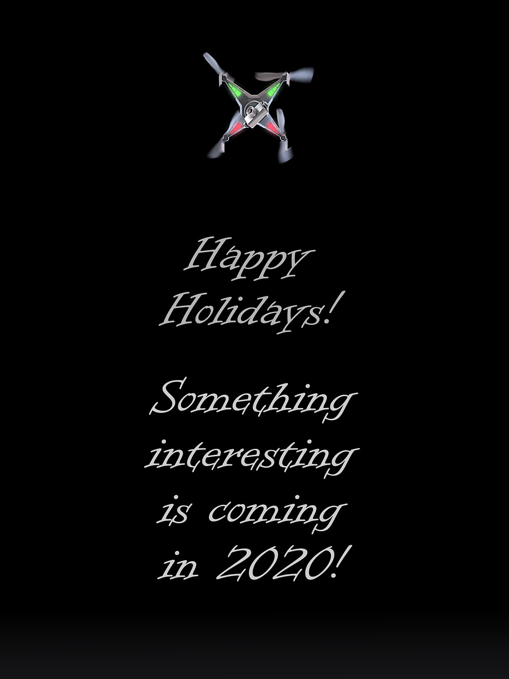 Happy holydays and happy New Year 2020