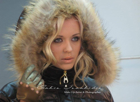 Hello November @Sakis Isaakidis Beauty Salon - Fur Fashion Photoshoot