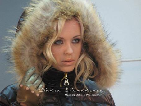 Hello November @Sakis Isaakidis Beauty Salon - Fur Fashion Photoshoot