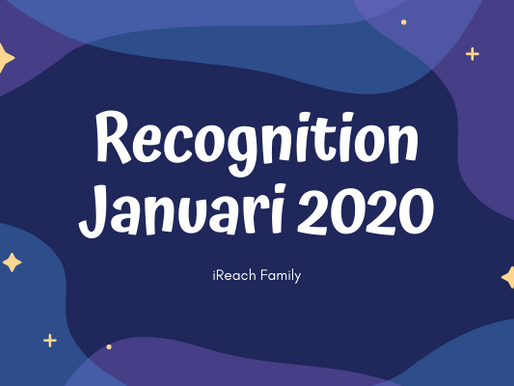 Tahniah! New Rank Up Januari 2020