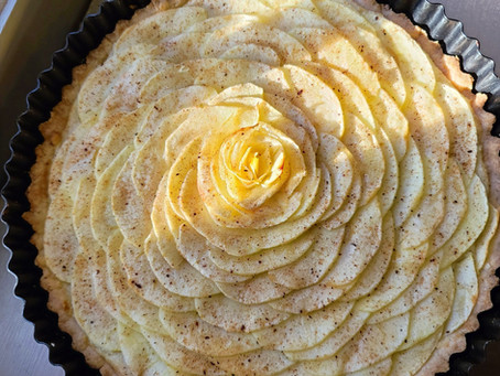 Recipe: Gluten Free Apple & Almond Tart