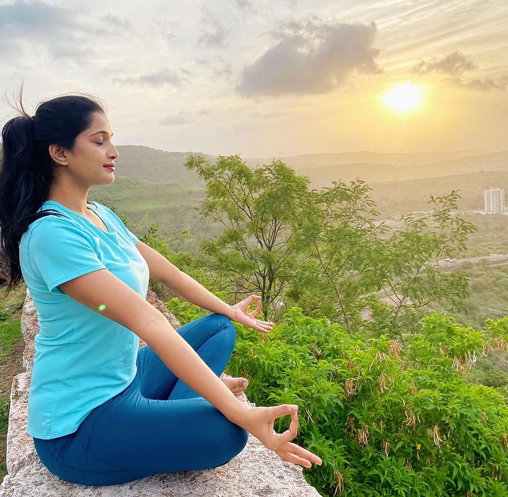 Learn Yoga with Tasmiya Shaikh the Founder of D Midas Touch