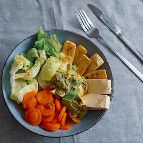 Baked Tofu Buddha Bowl