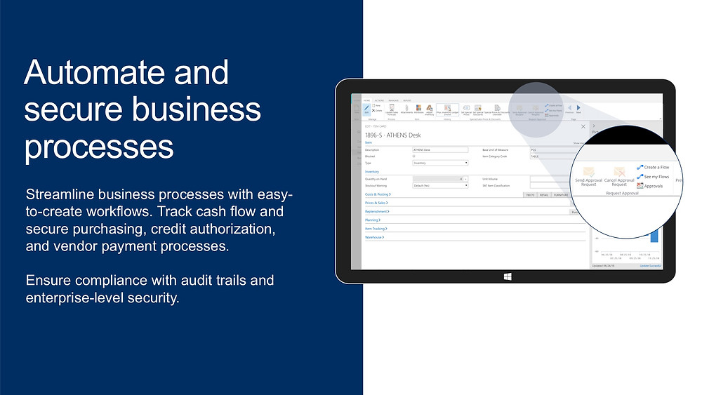 Automate and secure business processes