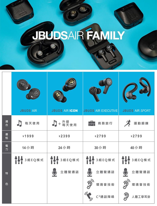 jbuds air family 真無線藍牙耳機