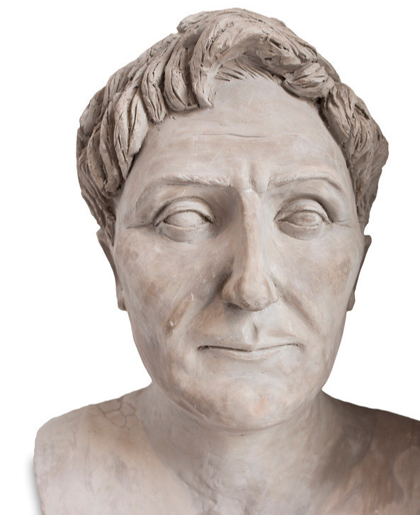 Bust of Pompey, Rival to Julius Caesar