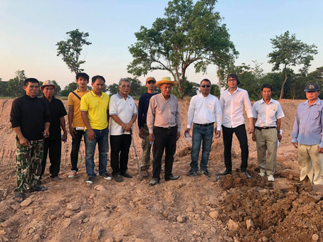 Groundwater Recharge project in Nong Vang Sek pha municipal, Khonkhane, Thailand