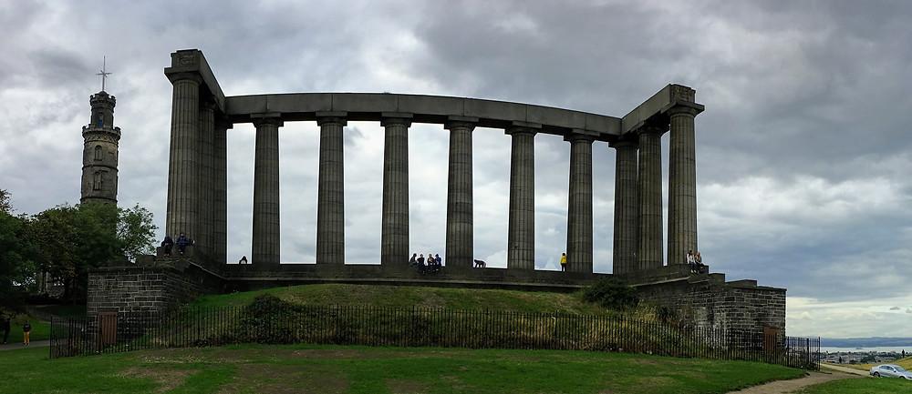 Scottish national monument, Calton Hill, Scotland
