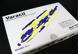 Varacil 的包裝完全是一盒遊戲模型