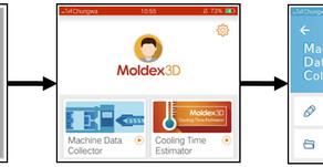 시뮬레이션이 더 실제에 가깝도록 Moldex3D APP을 사용한 기계 특성 분석
