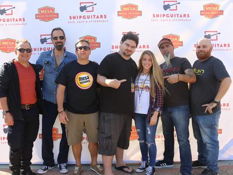 Rockin' the Mesa Music Festival in Mesa, AZ!