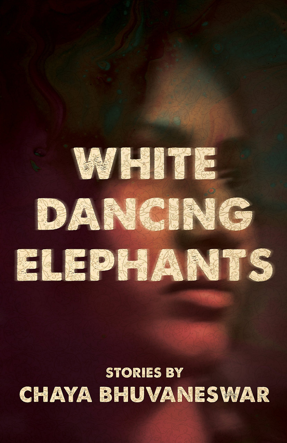 White Dancing Elephants by Chaya Bhuvaneswar