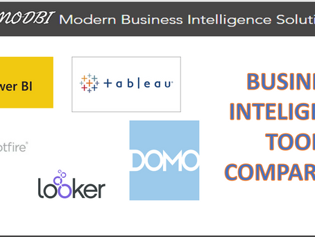 Best Business Intelligence tool in the market?