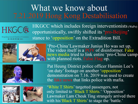 Hong Kong Intelligence Report #9 Colour Revolution by ''Legitimate and Peaceful Demonstrations''