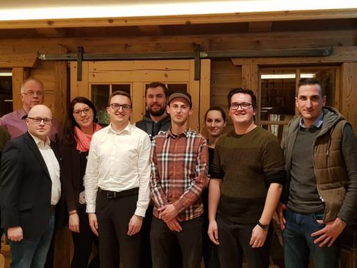 Neuwahlen bei der JU Penzberg - Alex Randl einstimmig wiedergewählt