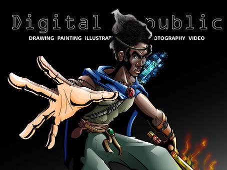 Digital Republic - The Bladesman* (Vector Version)