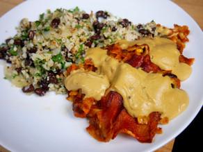 Tex-Mex Veggie Enchiladas