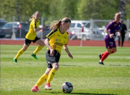 Tilde Hellund spelar i Åland United 2020