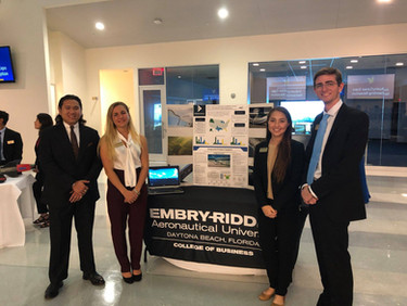 SEAMAX featured at Embry-Riddle Aeronautical University research presentation in Expo