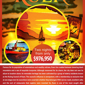 The City Of Ruen Travel Poster