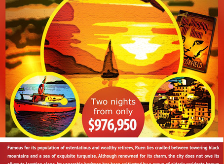 The City Of Ruen Travel Poster