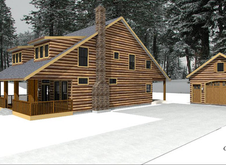 # CABIN HOUSE PLAN-CD228